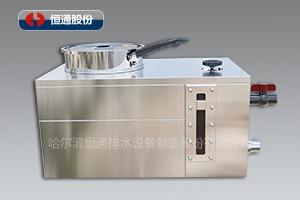 恒通厨宝-餐厨新型漩涡式油水分离设备